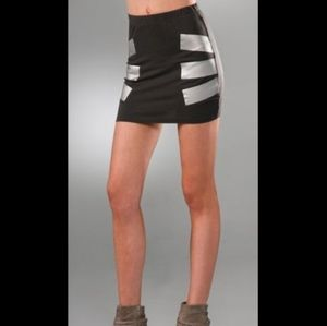 Cheap Monday Duct Tape Mini Skirt - Small